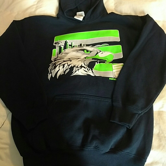 best authentic a2255 d4d51 Youth Seahawks Safetyshirtz Sweatshirt